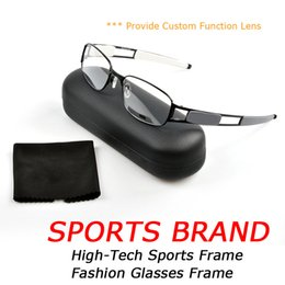 China Ultralight Metal Sports Frame OK3114 Fashion Mens Brand Designer Glasses Customizable Photochromic Lens Sunglasses and Myopia Lens with Bo suppliers