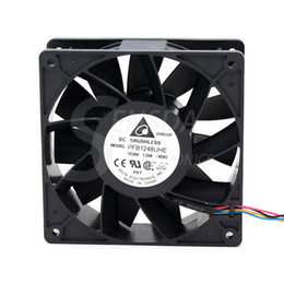 Discount fan dc48v - Free Shipping Wholesale Delta Electronics PFB1248UHE -9D43 -6C92 DC48V 1.2A Server Cooling fan 4-wire 120x120x38mm 12cm