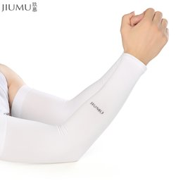 1pcs Basketball Elbow Support Protector Bicycle Cycling Sports Safety Elbow Pad Long Arm Sleeve Xrq88 Cheapest Price From Our Site Men's Accessories Men's Arm Warmers