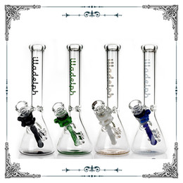 "Box Brand Glasses NZ - 2017 New illadelph beaker bottom bongs glass bong 10"" hookahs Rasta heady water pipes 18.8mm joint brand bongs glass pipe free shipping"