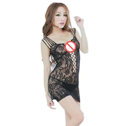 hot sexy baby dress UK - women Sexy party dress club wear Hot Mesh Baby Doll Dress Erotic Lingerie For Women Sexy Costumes Fishnet Underwear Body Lingerie Sexy