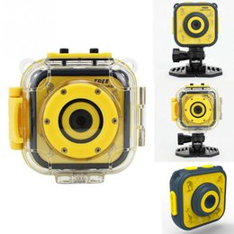 action camera for diving Australia - Children Kids Digital Camera Waterproof Action Camera Video Camera Mini Children outdoor Sport Camcorder For Kids Birthday Gift