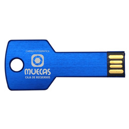 Custom flash memory online shopping - Bulk Metal Key Design GB Custom logo USB Flash Drive Personalize Name USB Pen Drive Engraved Memory Stick for Computer Laptop