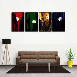 $enCountryForm.capitalKeyWord UK - Avengers 4PCS Modern Abstract Canvas Oil Painting Print Wall Art Decor for Living Room Home Decoration