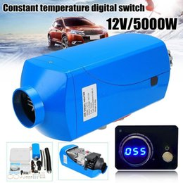 $enCountryForm.capitalKeyWord Canada - 12V 5000W LCD Schalter Vehicle Air Diesel Heater For Cars Trucks Yachts Boats Motor-Homes Air Parking Heater