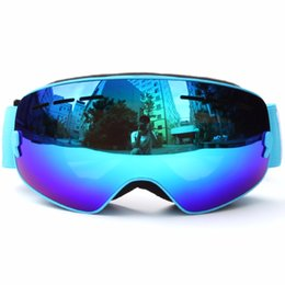 Girls Ski Goggles Australia - Skiing Glasses For Children Anti-fog Snowboarding Goggles Boys Girls Ski Eyewear Double Layer Lens Snow Goggles S105G