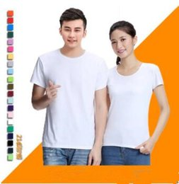 2721f7790f5 (Custom pattern) men s short sleeve round neck t-shirt wholesale blank  advertising t-shirt custom logo Combed cotton