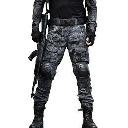 $enCountryForm.capitalKeyWord UK - Tactical Pants Cargo Pants Men Knee Pad SWAT Army Camouflage Clothes Hunter Field Work Combat Trouser Woodland