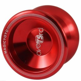 Magic Bear UK - Hot Sale Ball Bearing Magic YOYO T5 Upgraded Version Alloy Aluminum yo yo Metal Professional Auldey Yo-Yo Toy