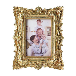 Giftgarden 4x6 Vintage Photo Frames Gold Picture Frame Wedding Gift Home  Decor b096e0fd83a0