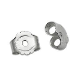 Ingrosso Beadsnice ID 25338 dadi a orecchino 925 risultati di orecchini in argento sterling orecchino all'ingrosso accessori per la produzione tappo posteriore
