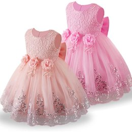 41cb179bfcd3 Lace Girl Summer Clothes Newborn Baby Dress Kids Party Wear Princess  Costume For Girl Tutu Infant 1-2 Year Birthday Dresses