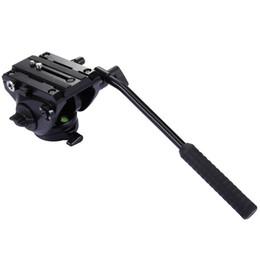 Dslr Slr Camera Australia - PULUZ Video Tripod Head &Quick Release Sliding Plate for DSLR &SLR Cameras head for monopod Monod Tripod Slider Video Film Shoot