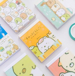 Chinese  Sumikko Gurashi Cartoon DIY Soft Cover Mini Notebook Diary Pocket Notepad Promotional Gift Stationery manufacturers