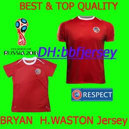 Thailand maillot Football Shirts Soccer Jerseys 2018 World Cup Costa Rica  BRYAN H.WASTON M.URENA 18 19 Costa Rica jerseys Camisa de futebol 3d3ecd1db