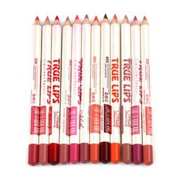 $enCountryForm.capitalKeyWord NZ - 1Set M.n Menow Waterproof Lipliner Pencil Assorted 12colors Waterproof Lip Pencil True Lips Makeup Retail P14002