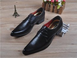 $enCountryForm.capitalKeyWord NZ - 2018 NEW style Fashion men wedding shoes microfiber leather formal business pointed toe man Slip On dress shoes men's oxford flats G267