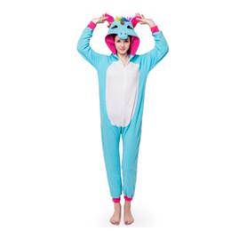 Adults Animal Pajamas Sets Cartoon Sleepwear Cosplay Zipper Women Men Winter  Unisex Flannel Panda Unicorn Pajamas Kigurumi men flannel pajamas set  promotion 96770267e