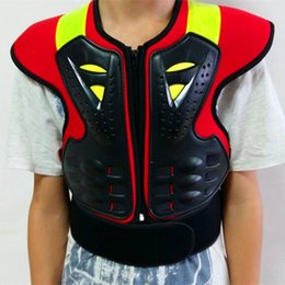 sports gear clothing 2018 - Motorcycle protective gear child armor clothing teenage armor Sports Safety Back Support protection cheap sports gear cl