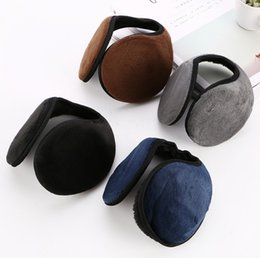 $enCountryForm.capitalKeyWord Canada - 4 Colors Earmuffs Winter Warm Plush Cotton Blending Ear Muffs Men Women Warm Earmuffs Cycling Running Walking Accessories