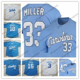 25df8f602 Discount north carolina tar heels UNC North Carolina Tar Heels  33 Miller  43 Matt Harvey