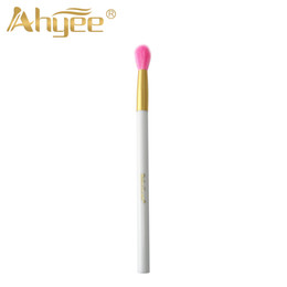 Chinese  Professional Eyeshadow Eyesocket Brushes Blending Eye Shadow Eyelash Pencil Brush Makeup Tool Top Quality for Women Pink White manufacturers