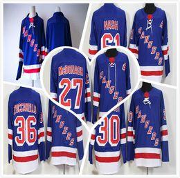 2018 Mens AD New York Rangers Jerseys blank Ryan McDonagh 30 Henrik  Lundqvist Mats Zuccarello Stadium Series Rick Nash Hockey Jerseys Blue new  jersey ... c9869e81c