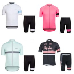 rapha black jersey 2019 - RAPHA team Cycling Short Sleeves jersey shorts sets 2018 new arrival Summer Bike Clothing Quick-Dry c2307 cheap rapha bl