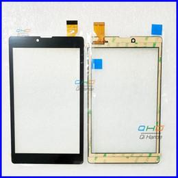 Digitizer Touch Screen Tablet Australia - 2PCS 7'' inch Tablet Capacitive Touch Screen Replacement For Irbis TZ736 TZ 736 Digitizer External screen Sensor Free Shipping