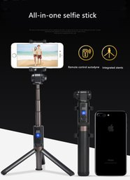 Многофункциональная ручка для селфи с подставкой для штатива Bluetooth, IPhone X / iPhone 8/8 Plus / iPhone 7/7 Plus / iPhone 6 Plus, Galaxy S9 / S9