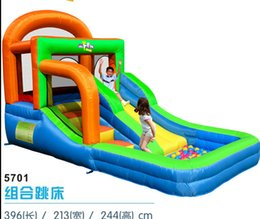 kids inflatable bounce house NZ - free shipping Best sales PVC popular for kids inflatable bounce round Cheap bounce house