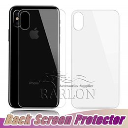 Tempered glass fronT back online shopping - Screen Protector HD Clear Toughened H Hardness Back Cover and D Front Tempered Glass for Apple iPhone XS Max XR X Plus