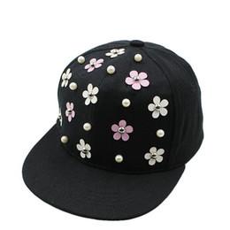 Fashion Snapback Hat Punk Hedgehog Rock Hip Hop Flower Rivet Stud Spike  Spiky Hat Cap Baseball Cap for 3-8Yrs Kids c599a6512829