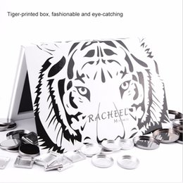 Discount eyeshadow palette mirror - Empty Magnetic Cosmetics Palette Recyclable DIY Eyeshadow Blush Powder Makeup Mirror Box