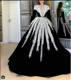 high collar gothic wedding gowns NZ - Black Long Sleeves Muslim Vintage Gothic Wedding Dresses 2019 Mariage Plus Size Bridal Gowns With Beads