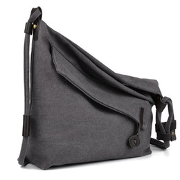 $enCountryForm.capitalKeyWord Canada - Casual Women's Crossbody Bag Retro Canvas Simple Female Tote Messenger Shoulder Bags For Women Men Stylish Design Unisex Sac