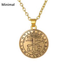 $enCountryForm.capitalKeyWord NZ - whole saleMinimal Adjustable Angel Pendant Necklace Jewelry Sigil of Archangel Gabriel Enochian Supernatural Talisman Amulet Hot selling