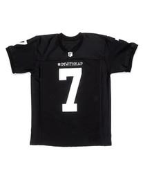 f1df6e616da IMWITHKAP JERSEY #7 COLIN KAEPERNICK I M WITH KAP Moive FOOTBALL JERSEY  Black Men Women Youth Stiched Name & Number & Logos kaepernick jersey deals