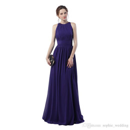 $enCountryForm.capitalKeyWord UK - 100% Real sample Regency Formal Evening Party Gowns 2018 A Line Sleeveless Free Shipping and Fast Delivery Cheap Long Prom Dress