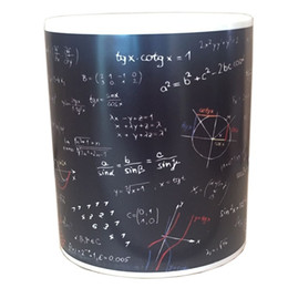 $enCountryForm.capitalKeyWord NZ - 350ml Mathematical Formulas Print Coffee Mug Heat Reveal Ceramic Water Cup Fashion Cool Print Coffee Cup Home Supplies Free Shipping