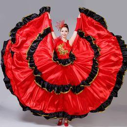 afc8e9308 Flamenco Costumes NZ - Flamenco Skirt Spanish Senorita Flamenco Dancer Fancy  Dress Costume Brazil Dance Costume