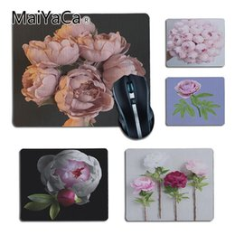 $enCountryForm.capitalKeyWord Canada - MaiYaCa Pink Pretty Peony Comfort small Mouse Mat Gaming Mouse pad Size for 180x220x2mm and 250x290x2mm Small Mousepad