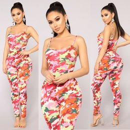 High Quality Jumpsuits Australia - High Quality Jumpsuits For Women Summer 2018 Casual Skinny Jumpsuit Sleeveless Sexy Jumpsuit Off Shoulder Pink Women Clothing