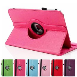 china huawei tablet pc 2019 - Universal 360 Rotating Adjustable Flip PU Leather Stand Case Cover For 7 8 9 10 10.1 10.2 inch Tablet PC MID Samsung Tab