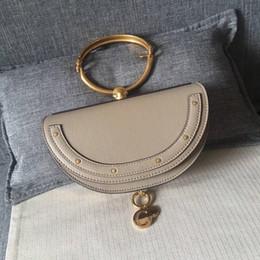 $enCountryForm.capitalKeyWord Canada - 2017 new star half-moon type retro metal ring shoulder bag portable mini saddle bag women handbag 6 colors available Multi-purpose bag