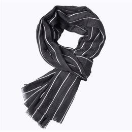 $enCountryForm.capitalKeyWord UK - Trendy Men clothes cotton blend casual winter autumn Scarf Vertical Striped Scarves one pieces
