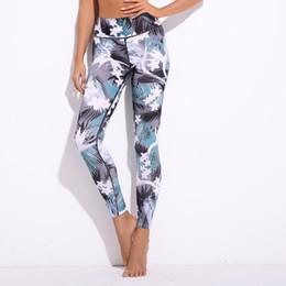 $enCountryForm.capitalKeyWord NZ - Yesello Women's Fashion Floral Print Slim Leggings Athleisure Sportswear Women Pants Push Up Workout Girls Sexy Fitness Leggings