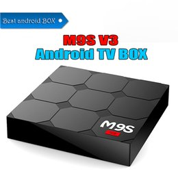 Internet Tv Android Canada - Best Price M9S V3 4K Smart Android 6.0 TV Box RK3229 Quad Core 1GB 8GB Media Player Internet Boxes Better TX3 X96 MINI