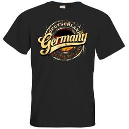 getshirts - Geschenke- Deutschland - Alemanha Schriftzug..Mens 2018 marca de moda O-pescoço 100% algodão Tops Tee personalizado Ambiental venda por atacado