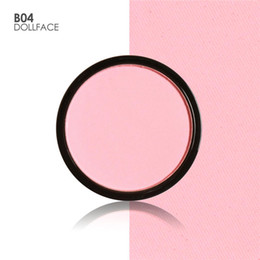 Blush Refill Canada - FOCALLURE 6 Colors Blush Makeup Cosmetic Natural Pressed Blusher Powder Palette Charming Cheek Color Make Up Face Blush